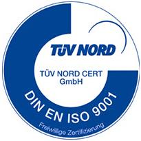 Gern stellen wir Ihnen unser ISO 9001 Zertifikat als PDF Download zur Verfügung